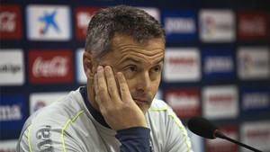 Fran Escribá confía en poner en dificultades al Real Madrid