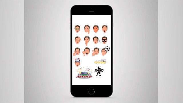 Así son los emojis de Fernando Torres