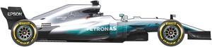 El coche de Mercedes para el Mundial de la F1 2017