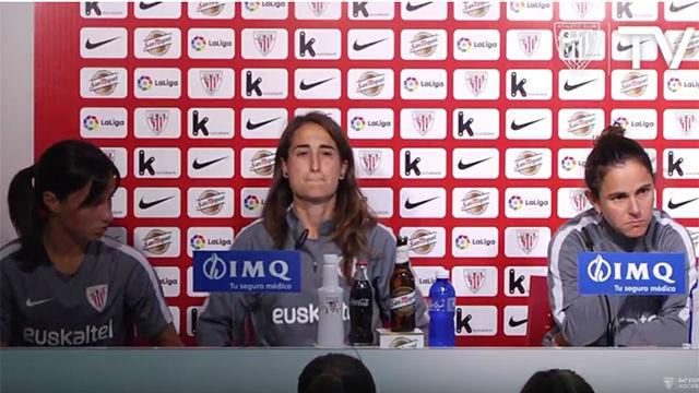 La despedida de tres mitos del Athletic: Eli Ibarra, Iraia e Irune