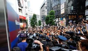 Los jugadores desataron la locura en las calles de Tókio