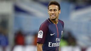 Neymar vivió una noche negra en Marsella