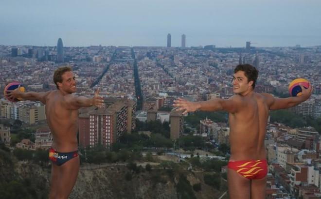 Albert Espa�ol y Alberto Munarriz son dos piezas b�sicas del equipo espa�ol de waterpolo