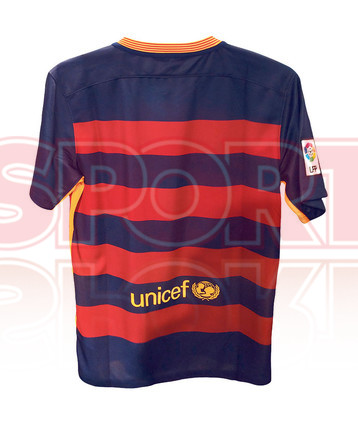 As� ser�n las camisetas del Bar�a 2015/16
