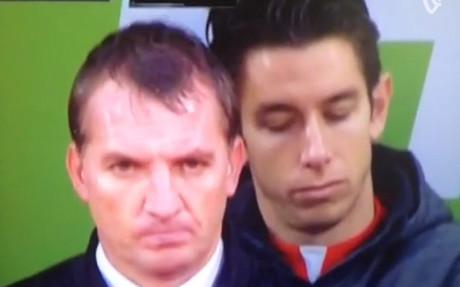 La cabezadita del portero suplente del Liverpool
