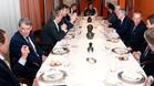 Florentino con Soriano en la cena oficial de directivas