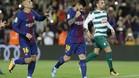 Pleno al 15 del Barça con recital de Messi