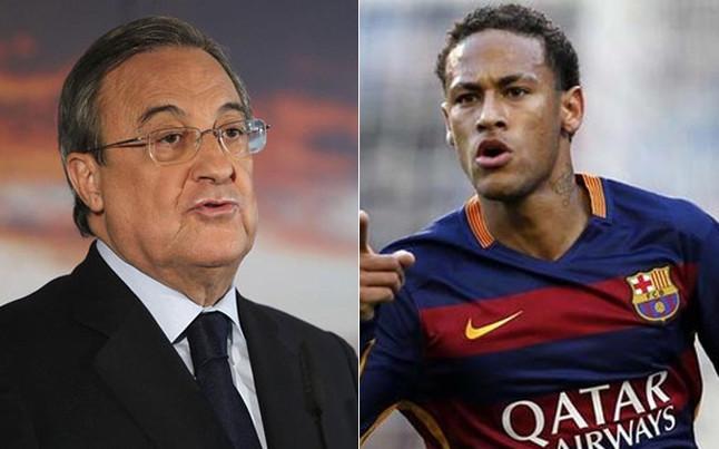 �Florentino ofrece 35 millones de euros por temporada a Neymar!