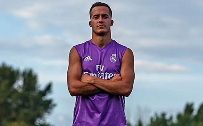 Lucas V�zquez, delantero del Real Madrid