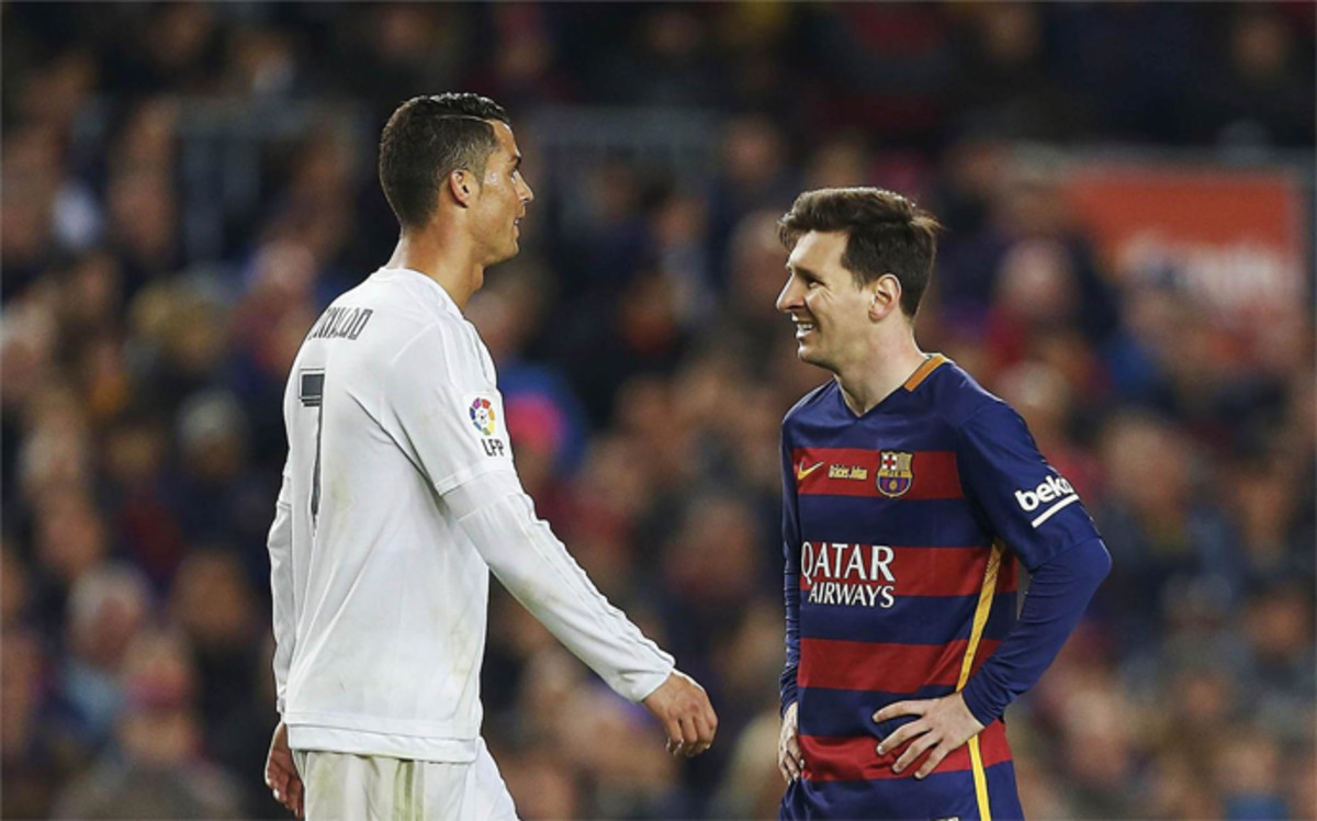 lionel messi and cristiano ronaldo meet again
