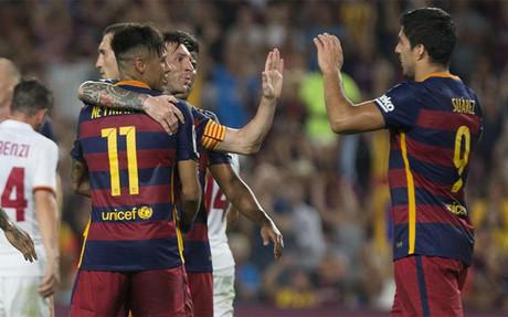 Messi-Neymar-Su�rez: el regreso del mejor tridente del mundo