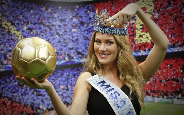 """Mireia Lalaguna: """"Me gustar�a cenar con Messi"""""""