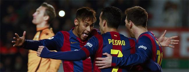 Otro festival del d�o Messi-Neymar