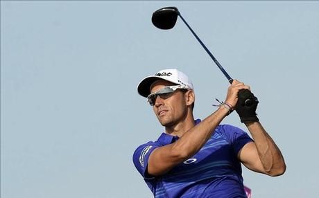 Rafa Cabrera en el Masters en Doha, en el que acab� segundo