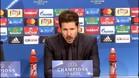 """Simeone: \""""He podido ver al Atlético intenso y agresivo que suele ser\"""""""