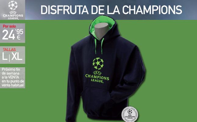 La sudadera de la Champions League