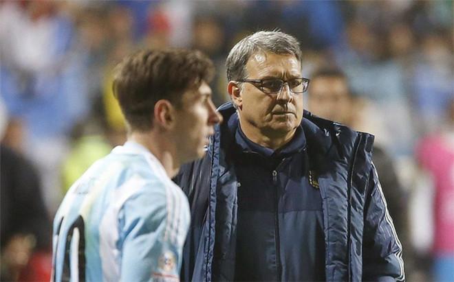 Tata Martino no tendr� a Messi en los Juegos