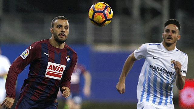 El Eibar vence al Málaga y se acerca más a Europa
