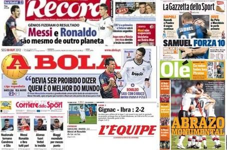Las portadas de la prensa internacional