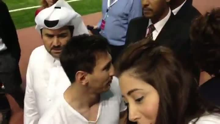 Locura por Messi en Doha