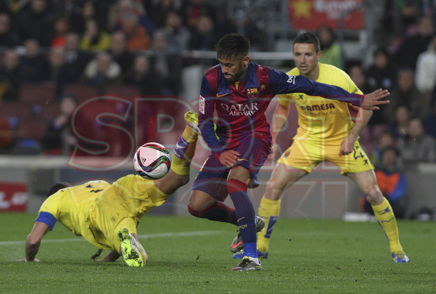 صور : مباراة برشلونة - فياريال 3-1 ( 11-02-2015 ) 1423690314016