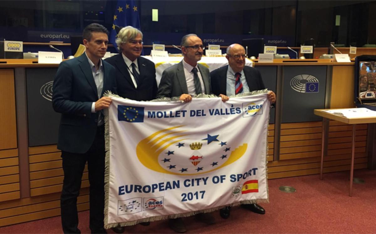 Mollet ciudad europea del deporte 2017 for Oficinas de endesa en barcelona ciudad
