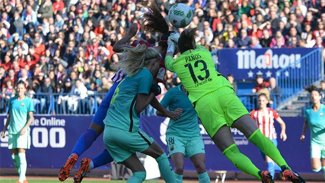 Video resumen del Atlético de Madrid femenino - Barça femenino (2-1)