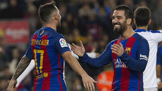 Video resumen FC Barcelona - Hércules (7-0). 1/16 vuelta La Copa