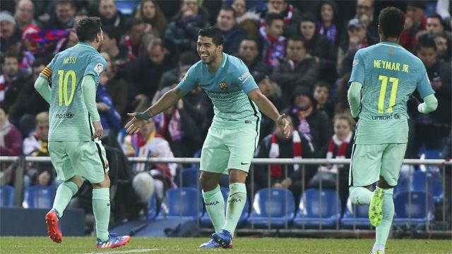 Video resumen Atlético de Madrid - FC Barcelona (1-2). Ida, semifinales Copa del Rey 2016-17