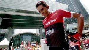 Alberto Contador, en Abu Dhabi