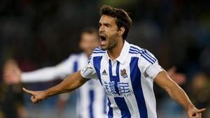 Xabi Prieto seguirá en la Real Sociedad hasta 2018