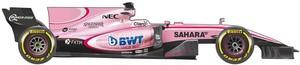 El coche de Force India para el Mundial de F1 2017