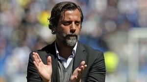Quique Sánchez Flores, entrenador del Espanyol