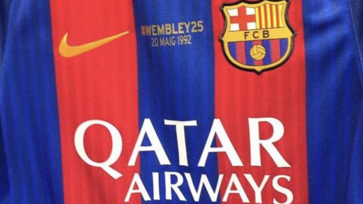 La camiseta del Barcelona – Eibar recordará Wembley 1992
