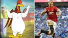Liam Gallagher comparó a Ibra con el gallo Claudio