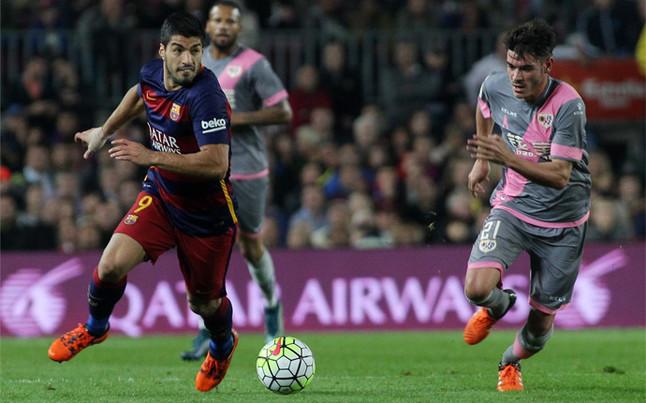 El Rayo Vallecano - FC Barcelona, el 3-M a las 21.00 horas