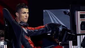 Cristiano Ronaldo, en el acto de un patrocinador