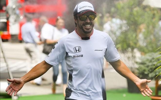 Fernando Alonso, optimista de cara a Hockenhein