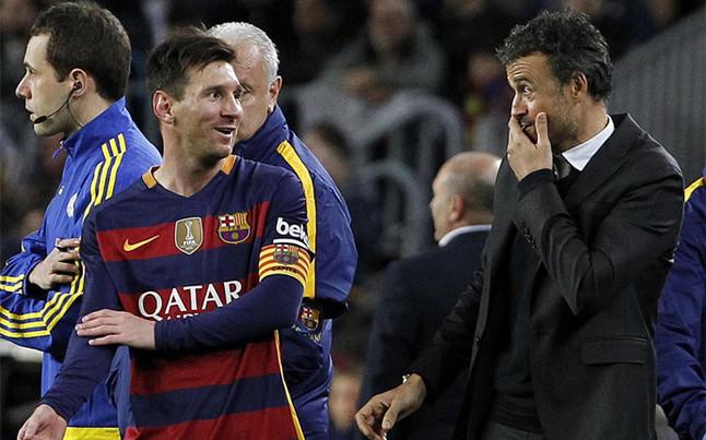 """Luis Enrique: """"�Messi? Nunca me ha gustado arriesgar"""""""
