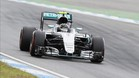 Nico Rosberg, el m�s r�pido en Alemania