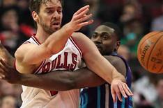 Pau Gasol no pudo conducir a los Chicago Bulls a la victoria