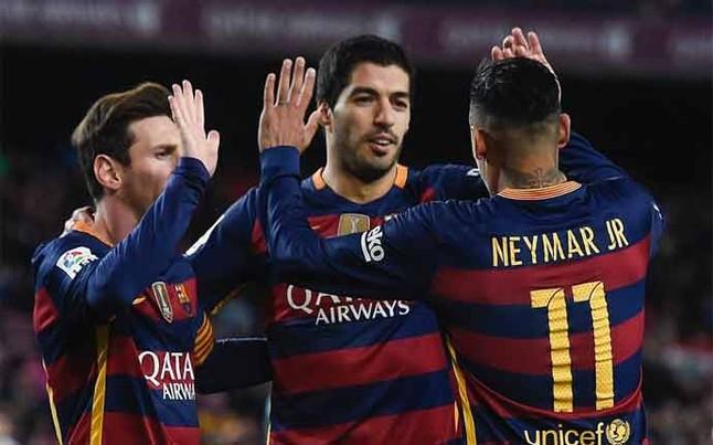 El tridente del FC Barcelona ya no se toca