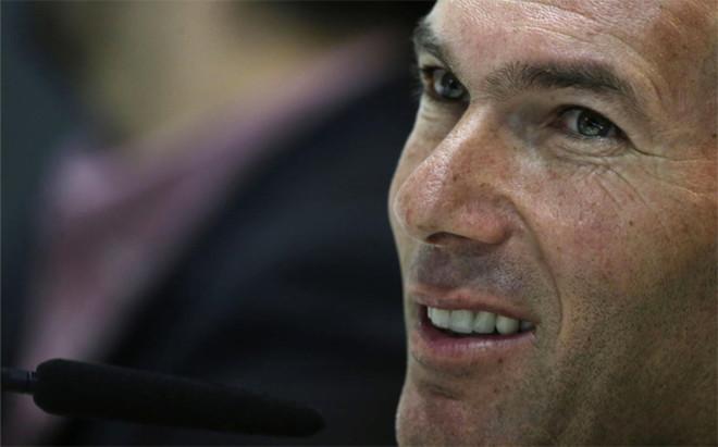 Zinedine Zidane, entrenador del Real Madrid