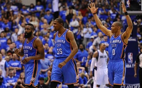 Oklahoma City dej en la cuneta a Dallas con un claro 4-0