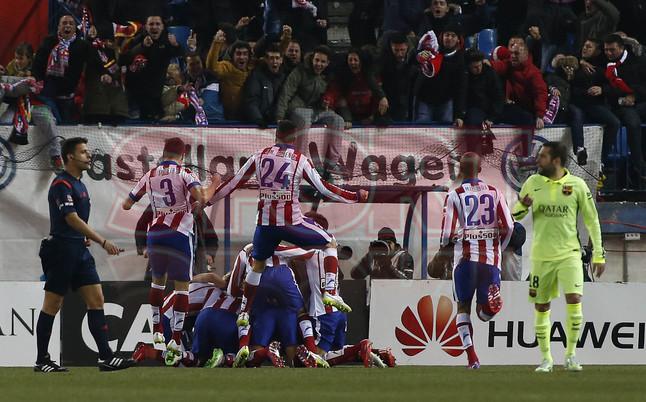 صور : مباراة أتليتيكو مدريد - برشلونة 2-3 ( 28-01-2015 )  1422483177426
