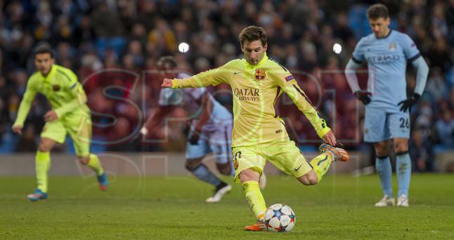 صور : مباراة مانشستر سيتي - برشلونة 1-2 ( 24-02-2015 )  1424816339026
