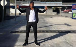 Roberto Gonçalves, en la Ciutat Esportiva