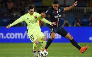 Marquinhos ya sabe lo que es sufrir a Messi