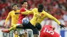 Jackson Martínez, en un partido con la camiseta del Guangzhou Evergrande