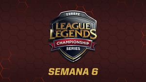 Así fue la jornada 6 de la League of Legends